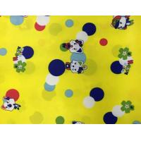 Buy cheap Printed Polyester PA Coating Fabric 20 * 20D Yarn Count For Sportswear Suit from wholesalers