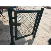 Quality Chain Link Metal Mesh Fencing Standard Stadium Fence For Basketball Count wholesale