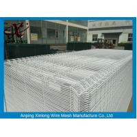 Quality White Color Hot Dipped Wire Mesh Fence With ISO9001 2008 Certificate wholesale