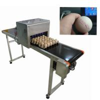 Egg Thermal Inkjet Printer / Industrial Ink Jet Printer With ABC Standard Font
