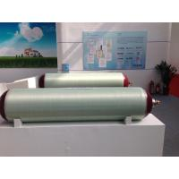Quality 150L / 212L Glass Fiber CNG Gas Cylinder With 25MPA Working Pressure Plastic Powder Spray Tech wholesale