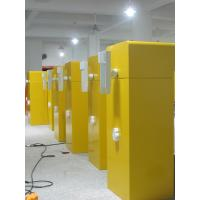 Traffic yellow boom barrier gate for parking access control