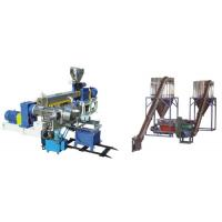 Quality PVC Polyethylene Extruder Machine , Plastic Pelletizing Equipment For Wires Materials wholesale