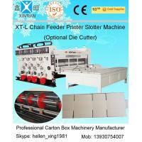 Auto Chrome Carton Making Machine 60pcs/min With Chain Feeding Model For Printing
