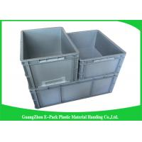 Quality Standard Plastic PP Industrial Storage Bins , Reusable Plastic Stacking Boxes wholesale