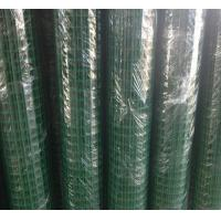 Quality Weld Heavy Gauge Wire Mesh Fencing Green Wire Fencing Roll Carbon Steel Materials wholesale