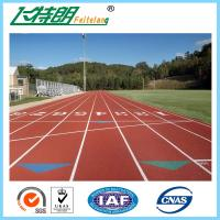 13 MM Rubber Running Track  Material Synthetic Sports Surfaces Recyclable