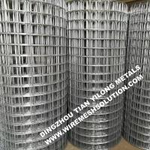 Quality 2 X 2 Galvanized Welded Wire Mesh Rolls Anti - Corrosion For Garden Decorative wholesale