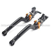 Quality Adjustable Long Folding Brake Clutch Levers , Brake And Clutch Levers For Motorcycles wholesale