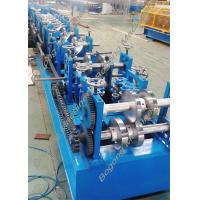 Quality Custom Steel Frame Purlin Roll Forming Machine 18.5KW Driving Motor wholesale