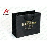 Quality Hot Stamping Printed Custom Paper Shopping Bags For Retail Store Medium Size wholesale
