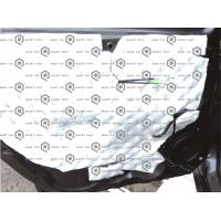 Quality 9mm Black High Thickness Auto Insulation Mat , Quiet Car Sound Deadening wholesale