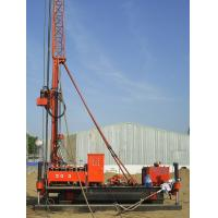 Quality 16.5m Assistant Tower Jet Grouting Drilling Rig With Crawler Mounted wholesale