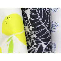 Buy cheap 290T Printed Polyester Fabric , Light And Thin Polyester Spandex Fabric from wholesalers
