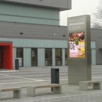 Waterproof IP65 P12 Led Advertising Displays Multi Signals With CE / RoHS