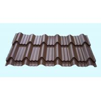 Quality Light Weight Metal Roofing Sheets Waterproof Glazed Tile Shaped wholesale