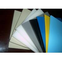 Buy cheap Smooth Or Sand Surface Blue Colored Plastic Sheet For Chemical Industry Light Density from wholesalers