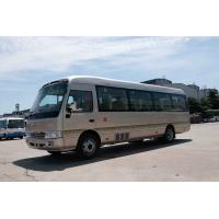 Quality Front engine Coaster Bus Sightseeing Passenger Vehicle 410Nm /1500rpm Torque wholesale