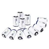 Buy cheap CR2 3V Lithium Primary Cell Battery 800mah with Battery Storage Case 4 Packs from wholesalers