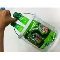 Non-toxic, Eco-friend Transparent Pvc Bucket With Pvc Waterproof