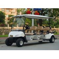 Quality Popular Outdoor 6 Seater Golf Cart With Aluminum Rim , 48V Battery Voltag wholesale