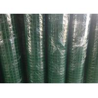 Quality Green Hole PVC Wire Mesh Fence Panels Spot Welding For Highway / Warehouse wholesale