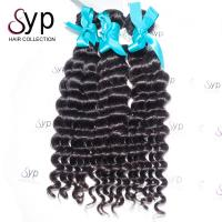 Deep Wave Brazilian Virgin Hair Extensions Human Hair Weave Bundles 16 18 20 Inch