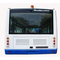 4 Stroke Diesel Engine Ramp Bus , 110 Passenger Luxury Airport Shuttles