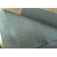 60wl30p10other  dark olive  Color plain Melton Wool Fabric for all people