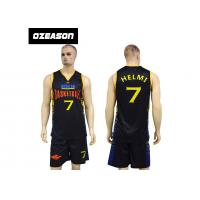 Quality Cheap Custom Dry Fit Lycra Basketball Uniforms For Adults And Kids wholesale