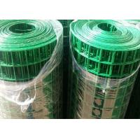 Quality Rabbit / Chicken Cage PVC Coated Welded Wire Mesh Anti - Corrosive ISO SGS Listed wholesale