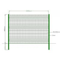 Quality Green Powder Coated Welded Wire Mesh , Galvanized Welded Wire Fabric Eco Friendly wholesale