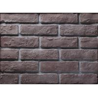 Quality Building Thin Veneer Brick Wall With Size 205x55x12mm , Wear Resistance wholesale