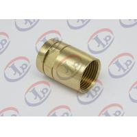 Quality Brass Female Union Nipple High Precision Machining Parts With Pickling Surface wholesale