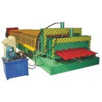 Buy cheap 5.5KW High Speed Double Deck Roll Forming Machine With Automatic Hydraulic Cutting from wholesalers