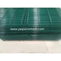 Buy cheap PVC Galvanized Wire Mesh Fence Security With 3m Width 0.5-2.1m Fence Height from wholesalers
