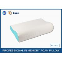 Ergonomic Design Sleep Innovations Contour Memory Foam Pillow with Deluxe Pillowcase