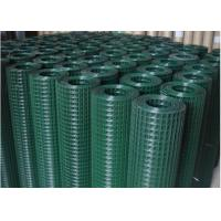 Quality Electric Galvanized Welded Wire Mesh Rolls / Green Mesh Fencing 0.60mm-6.0mm Dia wholesale