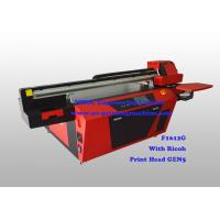 Quality Commercial Multicolor Flatbed UV Printer With Ricoh Industrial Print Head wholesale