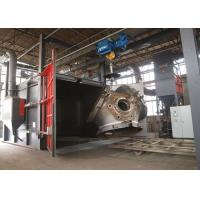 Quality Rust Removal Shot Blast Cleaning Equipment For Forging Parts Heavy Duty 22KW wholesale