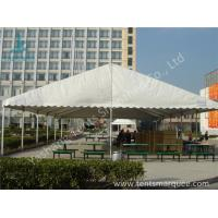 Quality UV Resistant and Waterproof Aluminum Alloy Outdoor Event Tent White PVC Fabric Cover wholesale