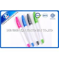Buy cheap Plastic Ball Point Pens mechanical , Colored Ballpoint Pens With Cap from wholesalers