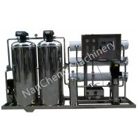 Quality Automatic / Manual Pure Water Purification Systems Stainless Steel Machine Frame wholesale