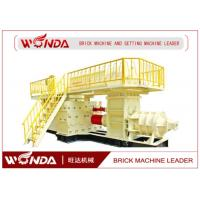 Alloy Structure Auto Clay Mud Brick Making Machine Easy Operation CE Certificated