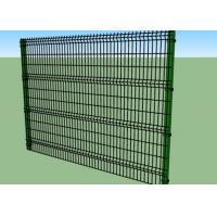 Quality 1.8m Height Vinyl Coated Welded Wire Fence Panels 4.0 / 5.0 / 6.0mm Wire Diameter wholesale