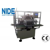 NIDE stator winding machine upgraded model three stations with 2 poles