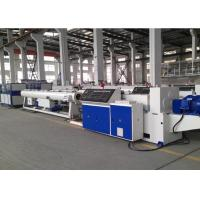 Buy cheap UPVC / Pvc Pipe Production Line , Full Automatic Plastic Pipe Making Machine from wholesalers