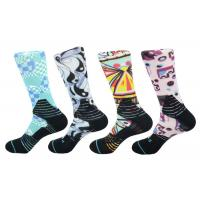Quality Polyester/ Spandex / Elastane  Make to order  3D-Printing Socks wholesale