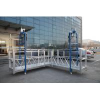 Quality Steel Painted / Hot Galvanized / Aluminum  ZLP630 / ZLP800 / ZLP1000  L Shaped  Suspended Platform For Wall Painting wholesale