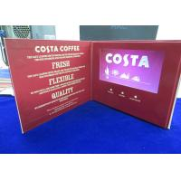 Quality VIF Free Sample Customized printing 7 inch lcd HD screen video brochure bult in 2GB memory for invitation,advertising wholesale